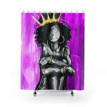 Naturally Queen IX PINK Shower Curtains