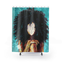 Naturally I TEAL Shower Curtains