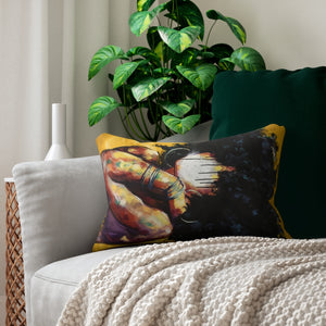 Naturally II GOLD Spun Polyester Lumbar Pillow