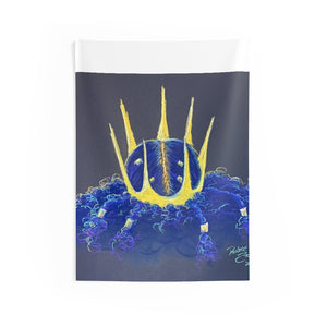 Naturally Crowned Indoor Wall Tapestries