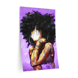 Naturally II PURPLE Wall Decals