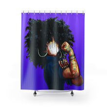 Naturally the Riveter PURPLE Shower Curtains