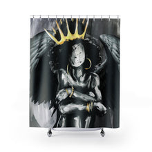 Naturally Queen IX ANGEL Shower Curtains
