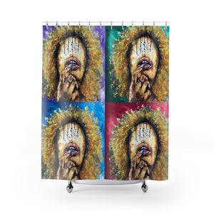 Naturally LII COLORS Shower Curtains