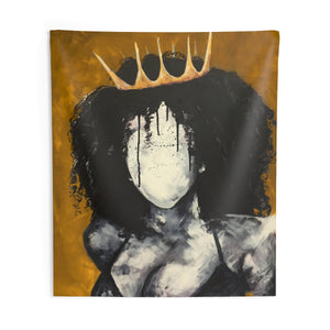 Naturally Queen GOLD Indoor Wall Tapestries