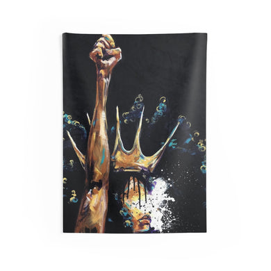 Naturally Queen Badu Indoor Wall Tapestries