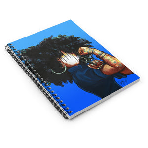Naturally the Riveter BLUE Spiral Notebook - Ruled Line