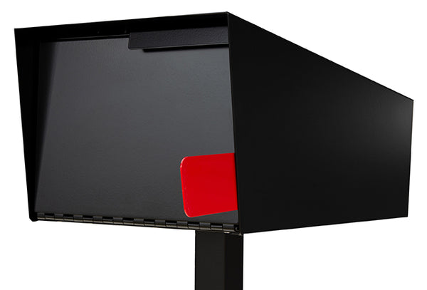 Modern Mailbox | Modern Mailbox with Post Black