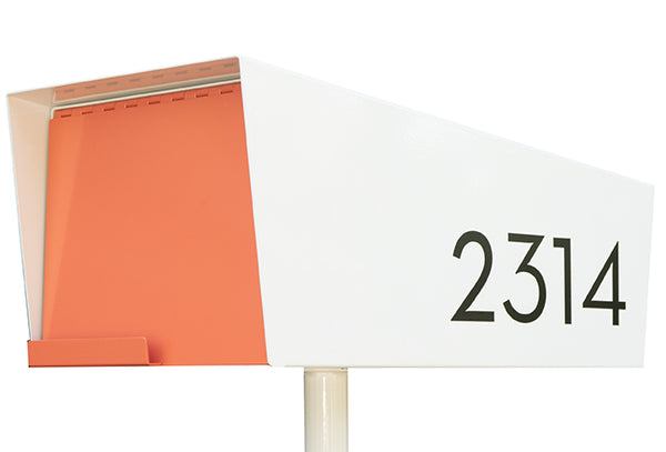 Modern Mailbox | Black Modern House Numbers | Black Modern Address Numbers