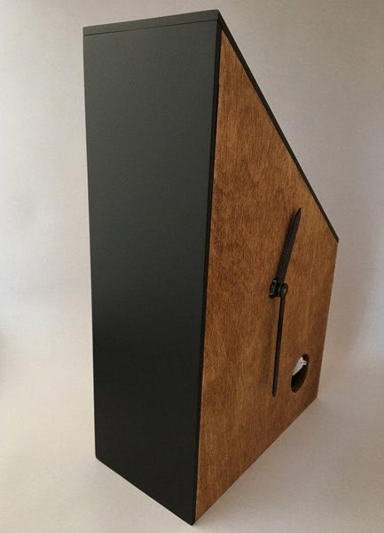 Mid Century Modern Cuckoo Clock | Handmade in the USA