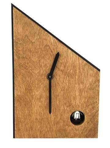 Mid Century Modern Clock | Handmade in the USA | Modern Cuckoo Clock