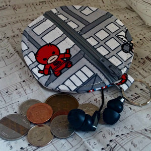 Marvel Kawaii Earbuds Case or Coin Case