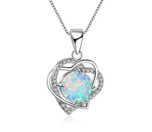 Romantic Double Heart Necklace