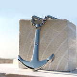 Titanium Steel Anchor Necklace