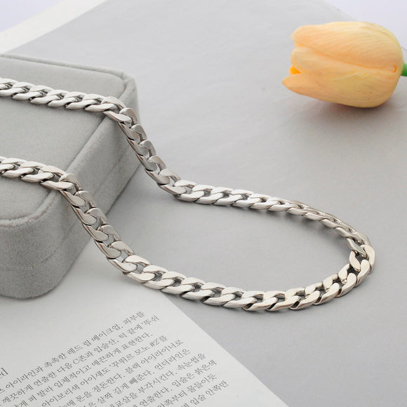 Men's Silver Link Chain