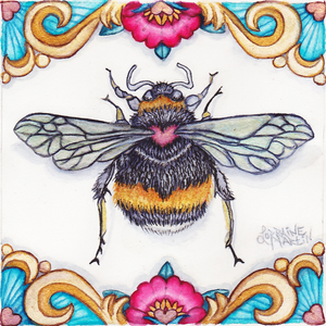 Bee Love Giclee Canvas Print