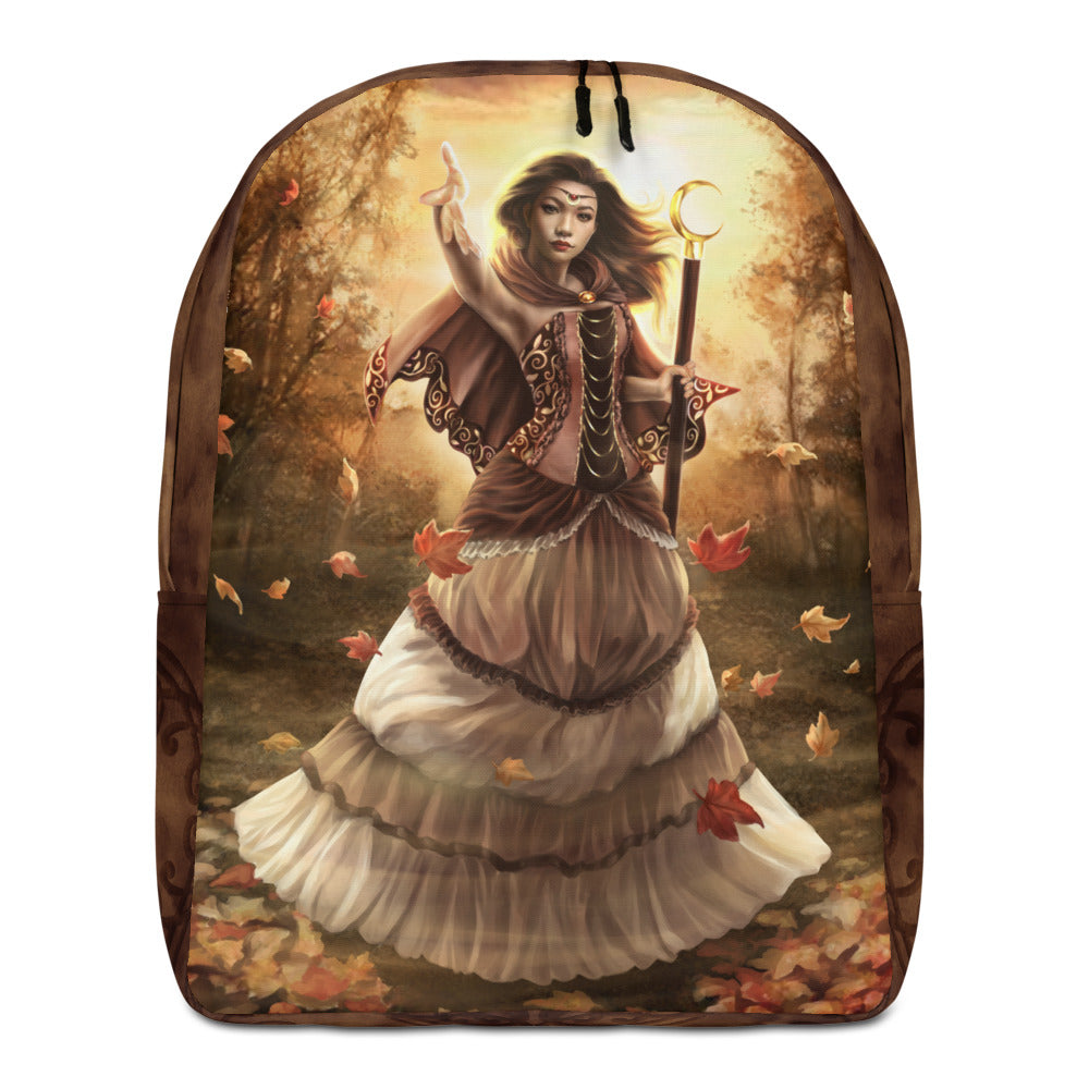 Minimalist Backpack - Autumn Magic