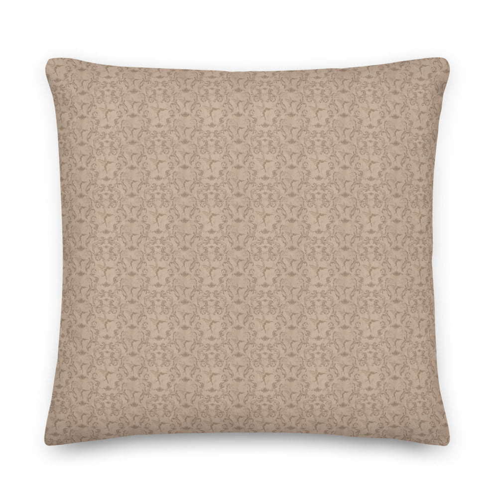 Square Pillow - Passion and Power