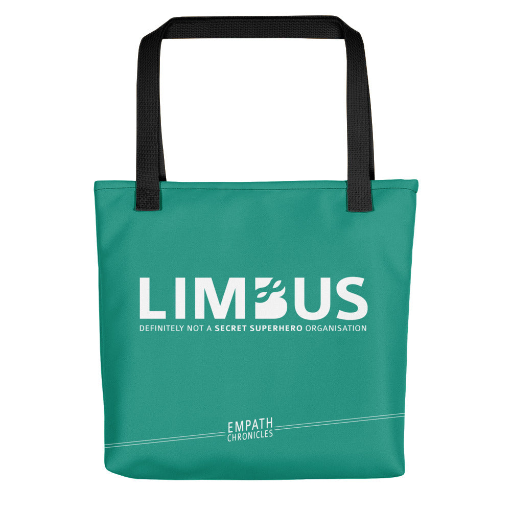 Tote bag - Empath Chronicles LIMBUS green