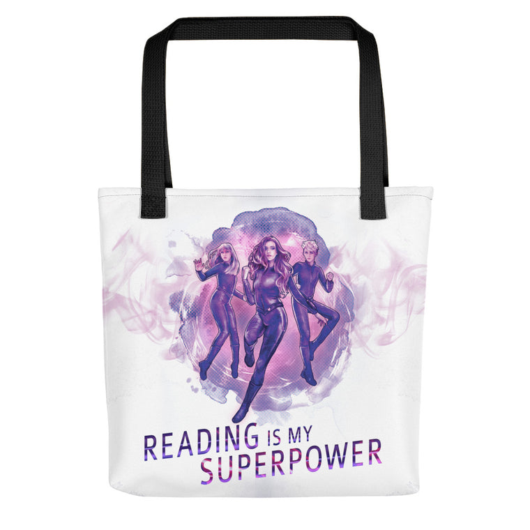 Tote bag - Empath Chronicles Reading is My Superpower