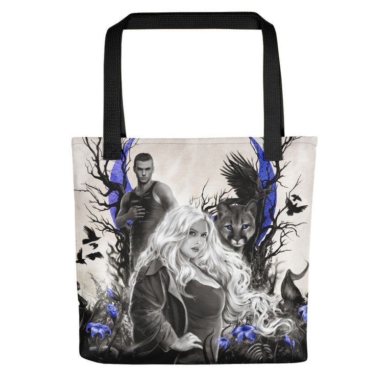 Tote bag - Beshadowed Book 1 Darkness Unknown