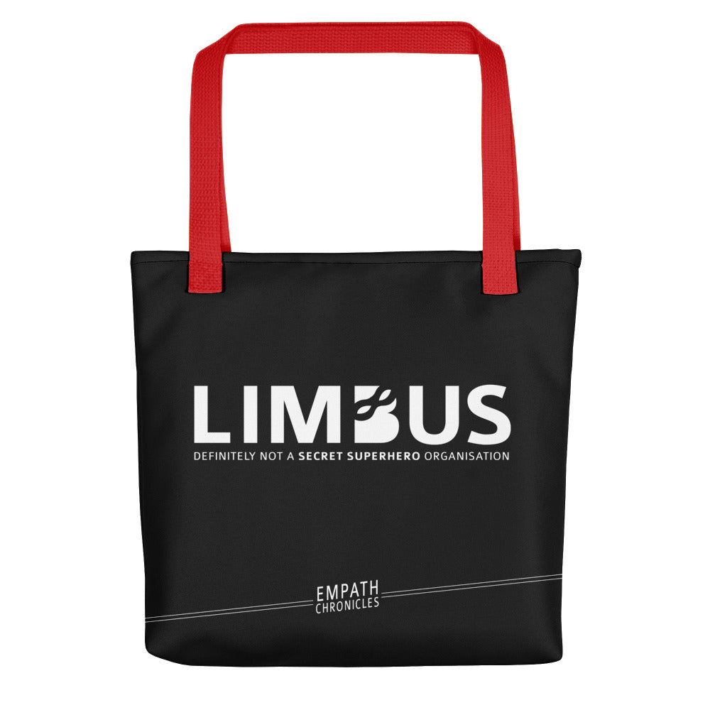 Tote bag - Empath Chronicles LIMBUS black