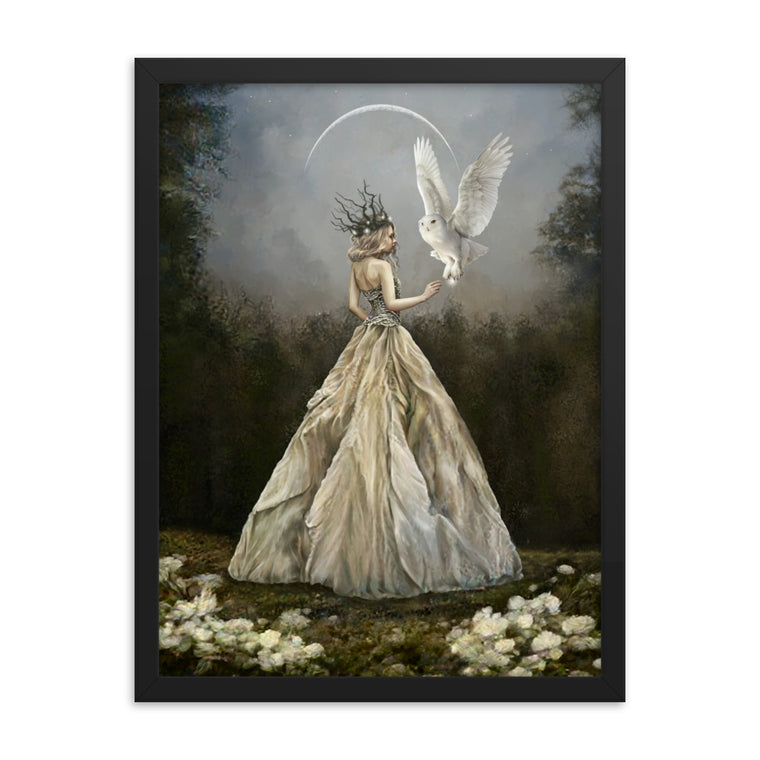 Framed Print - Crown of Stars and Thorns
