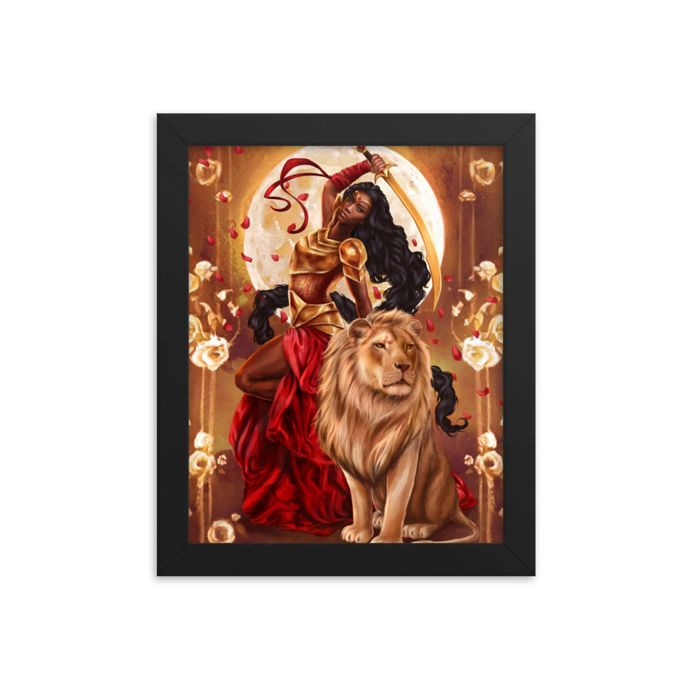 Framed Print - Passion and Power