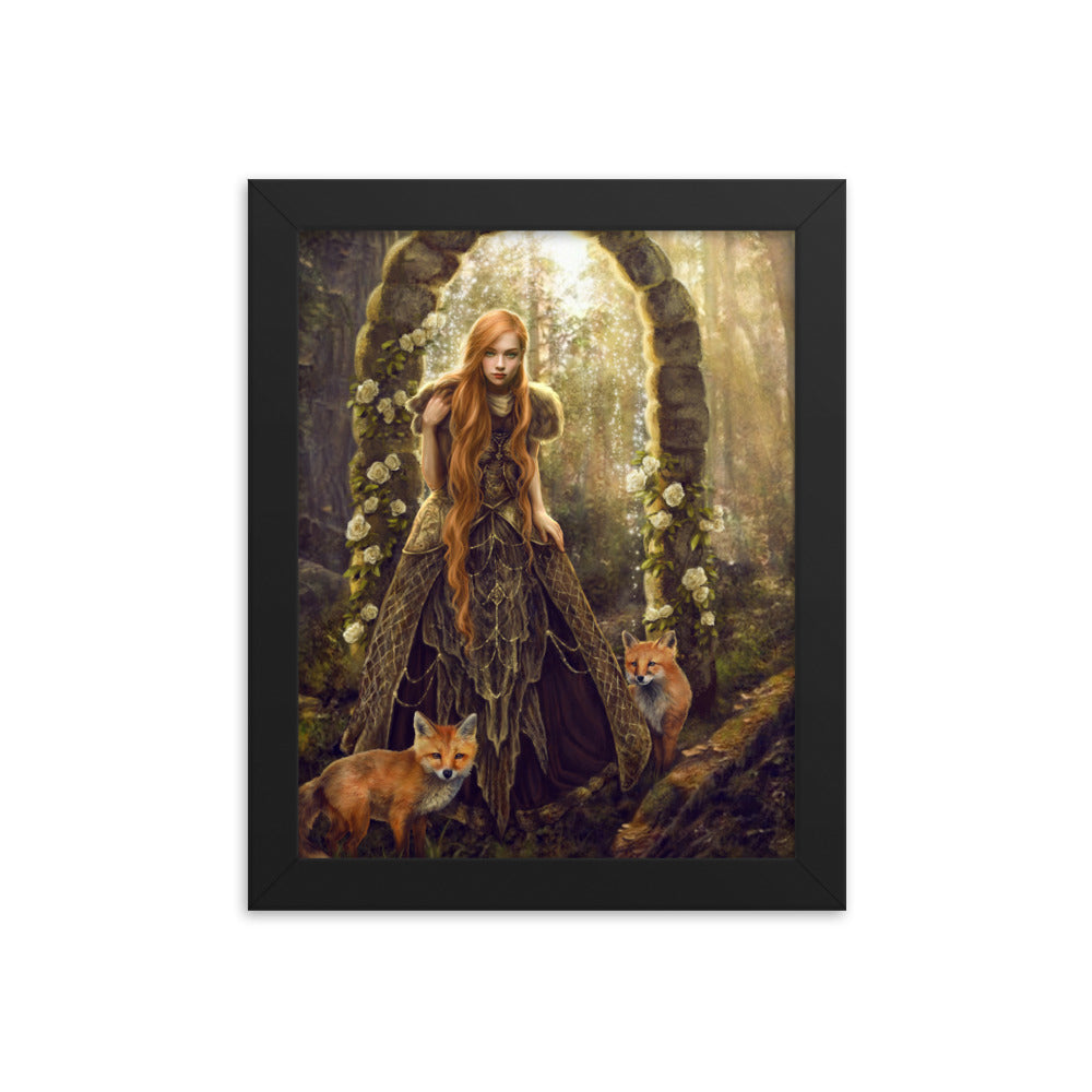 Framed Print - Fox Gate