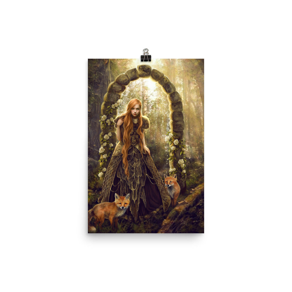 Art Print - Fox Gate
