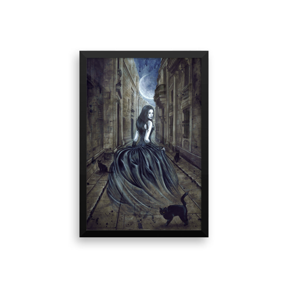 Framed Print - Lost Soul