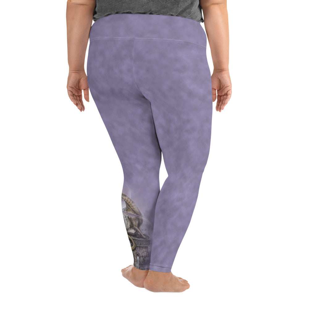 Plus Size Leggings - Tears and Moonlight