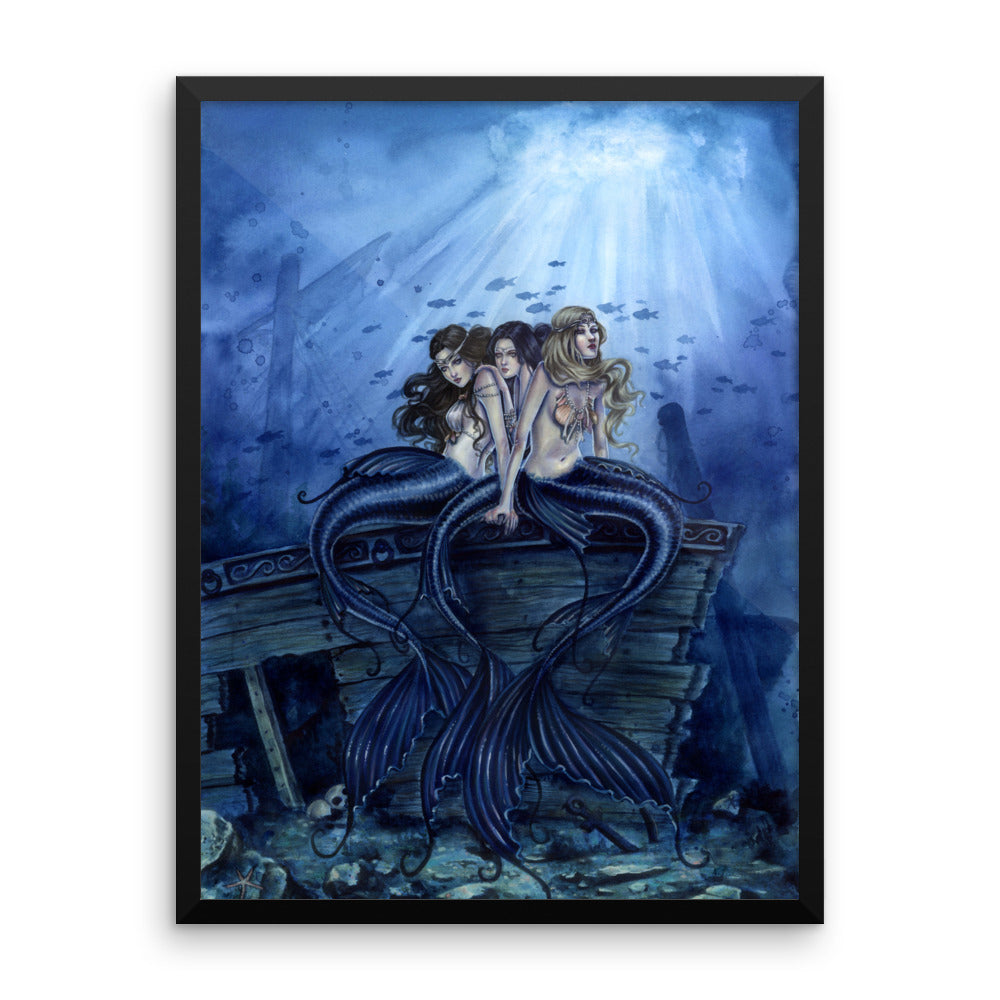 Framed Print - Sisters of the Sea