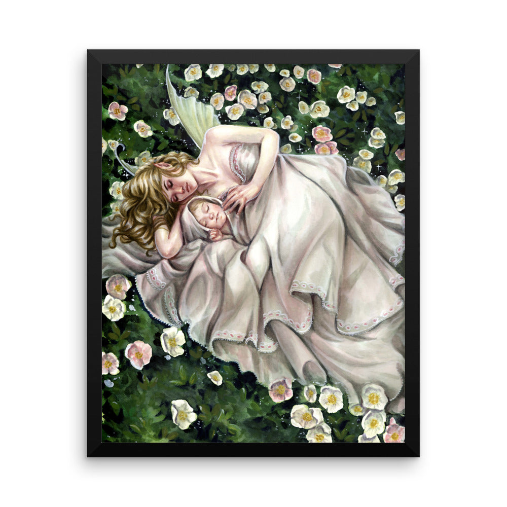 Framed Print - Sleepy Spring