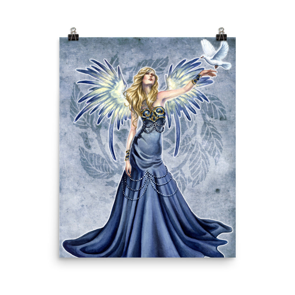 Art Print - Choirs Angel Seraphina