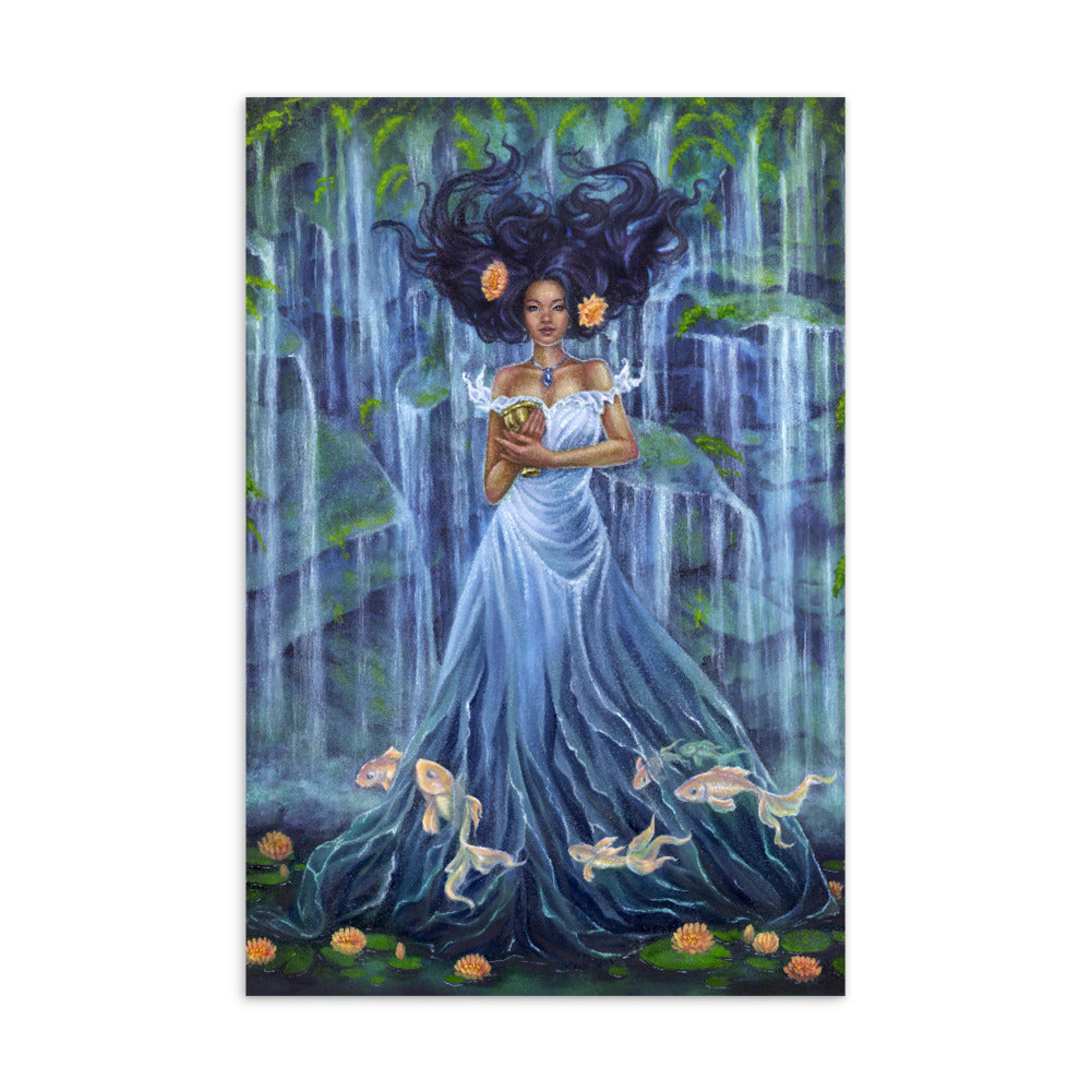 Art Card - Lady of Water