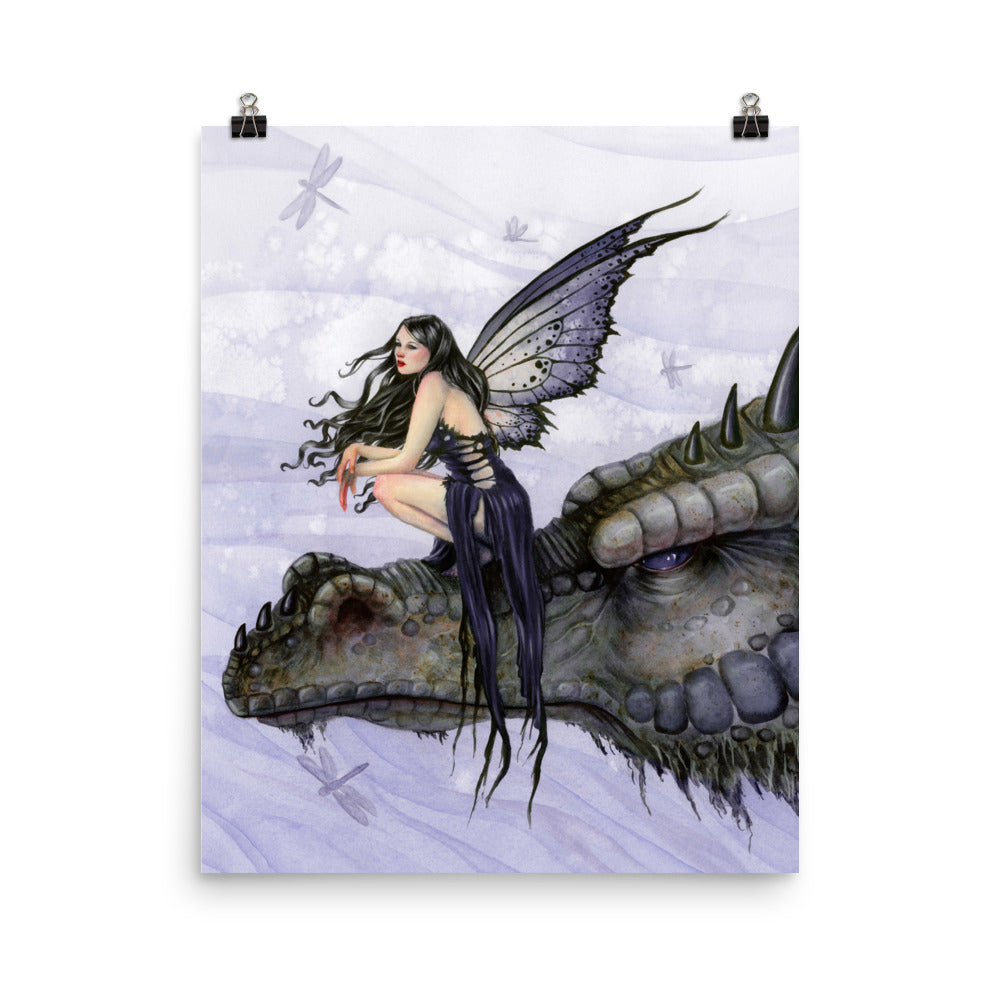 Art Print - Dragon Skies