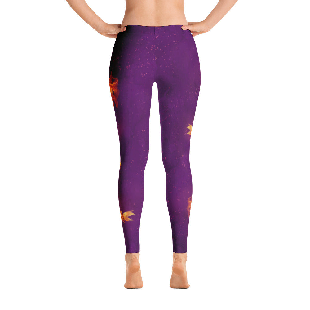 Leggings - Mystic Goldfish