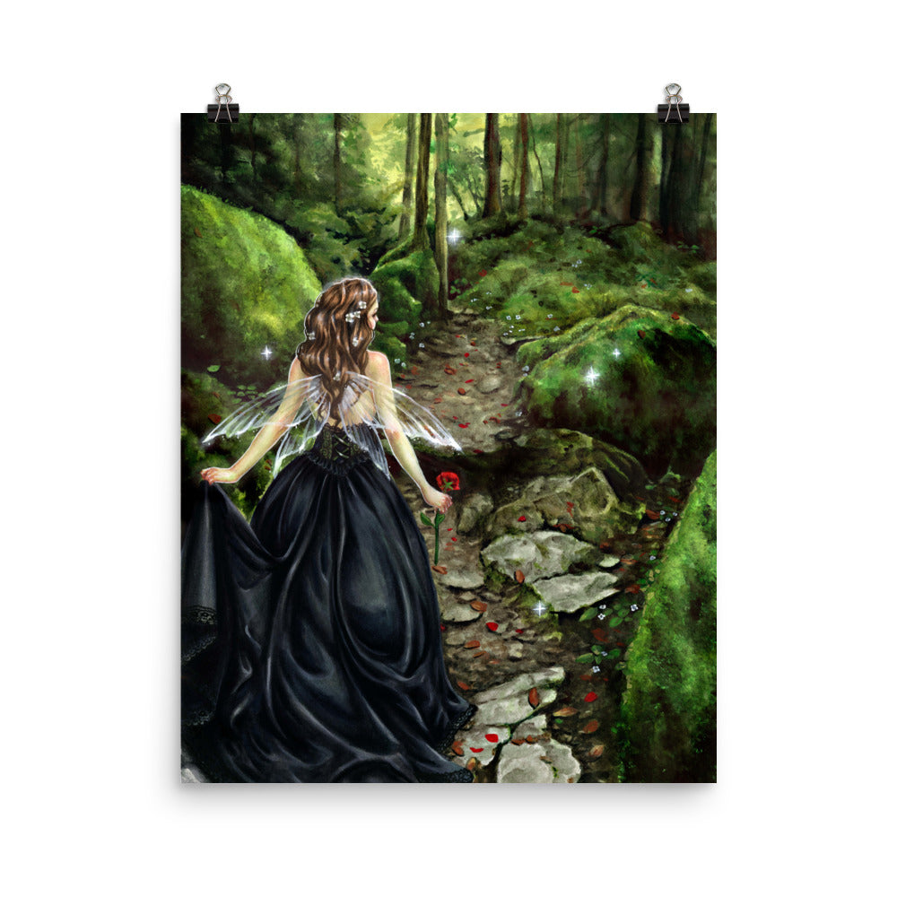 Art Print - Along the Forest Path