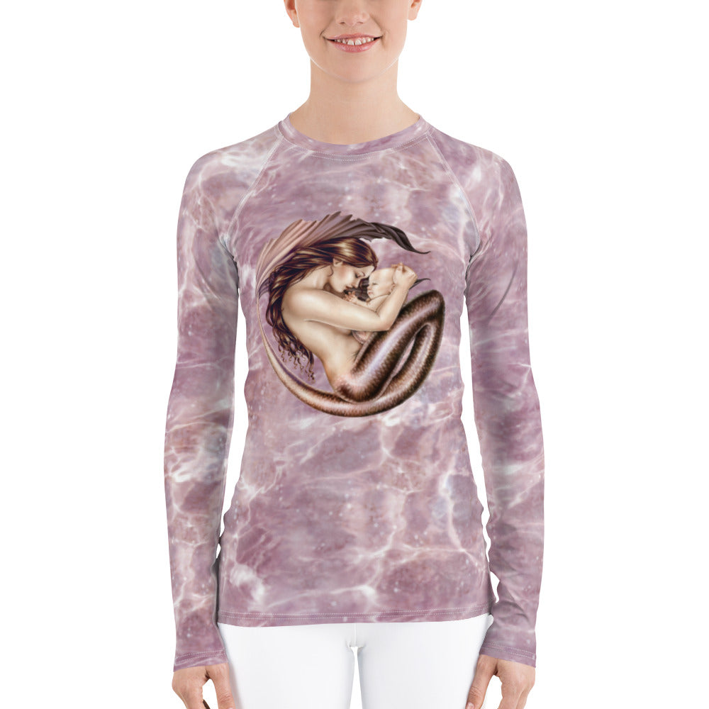 Women's Rash Guard - Motherhood