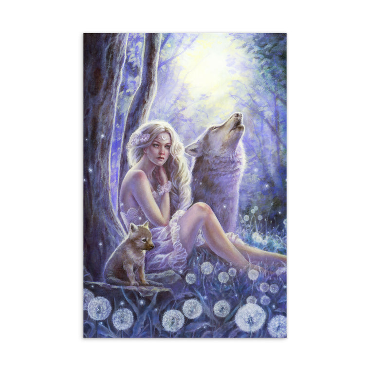 Art Card - Wolf Princess