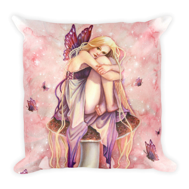 Square Pillow - Littlest Fairy