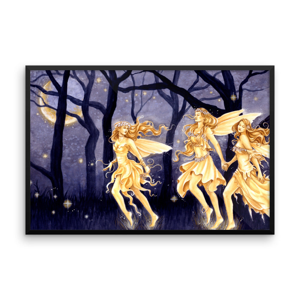 Framed Print - Magic and Moonlight