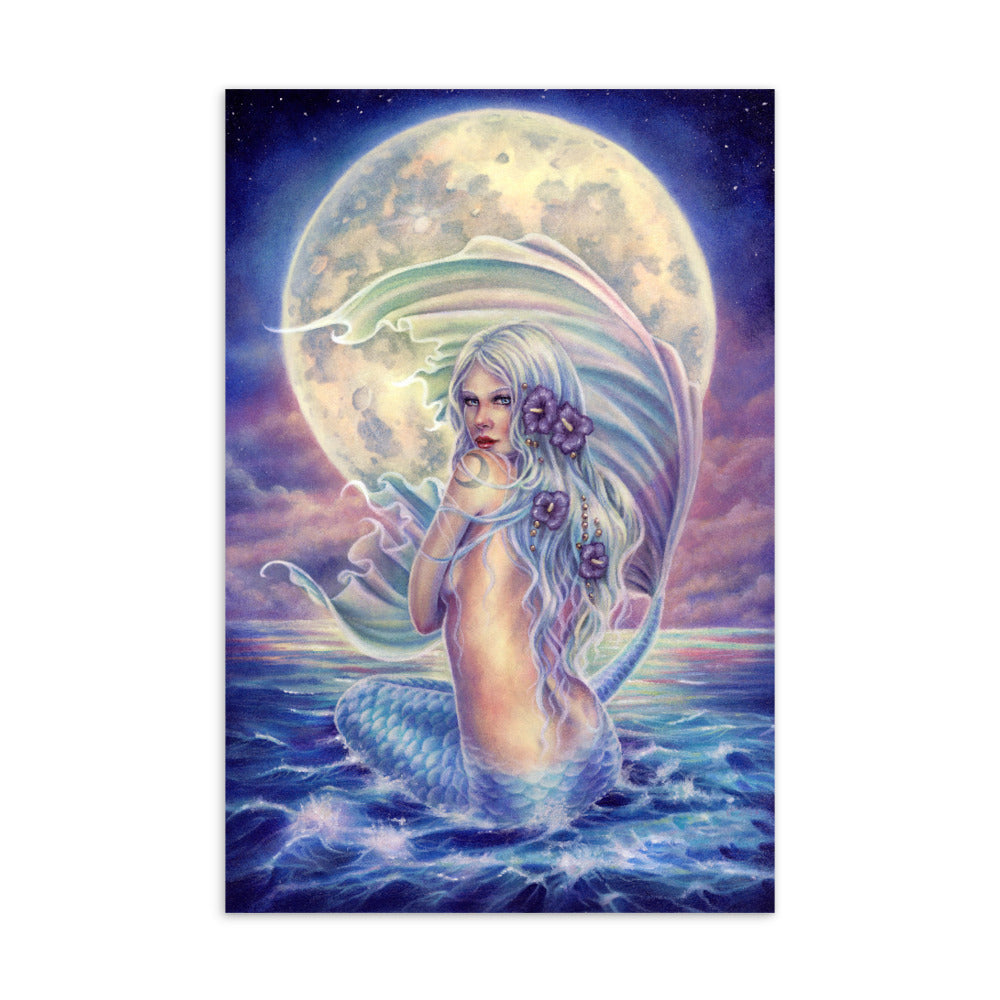 Art Card - Mermaid Moon