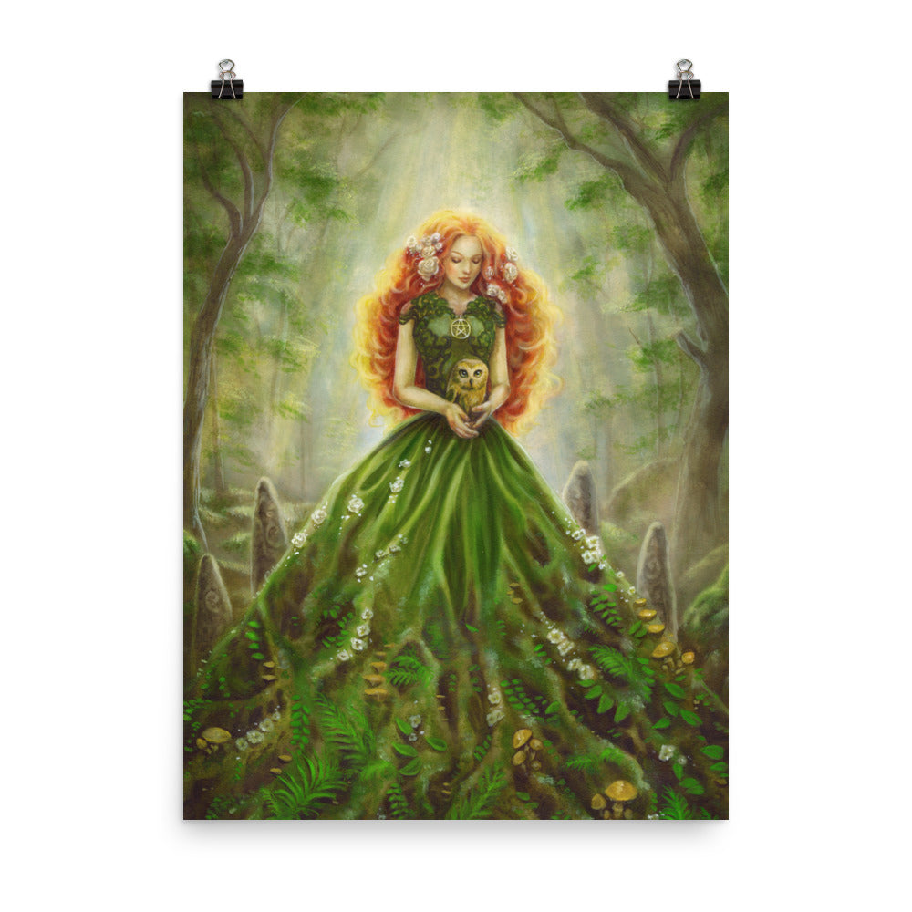 Art Print - Lady of Earth
