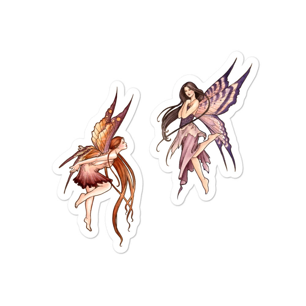 Sticker - Nouveau Fairies Autumn and Spring