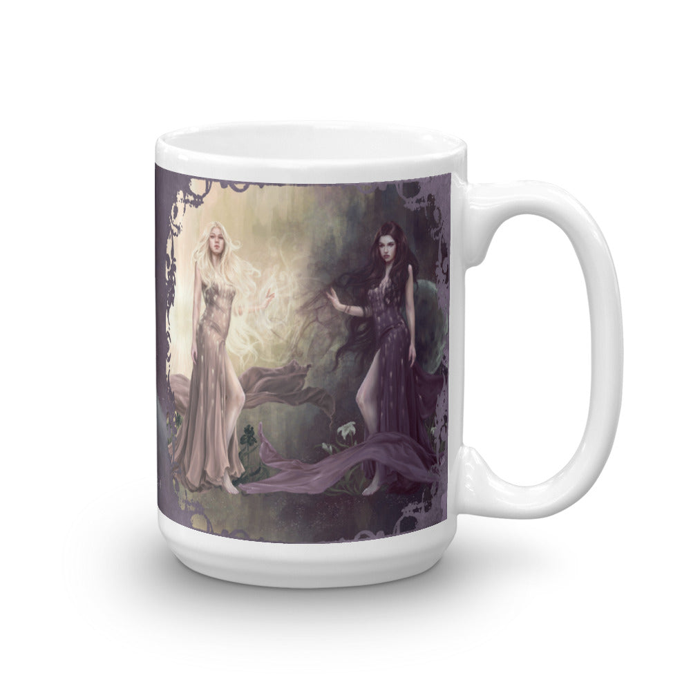 Mug - Light and Dark (Dark)