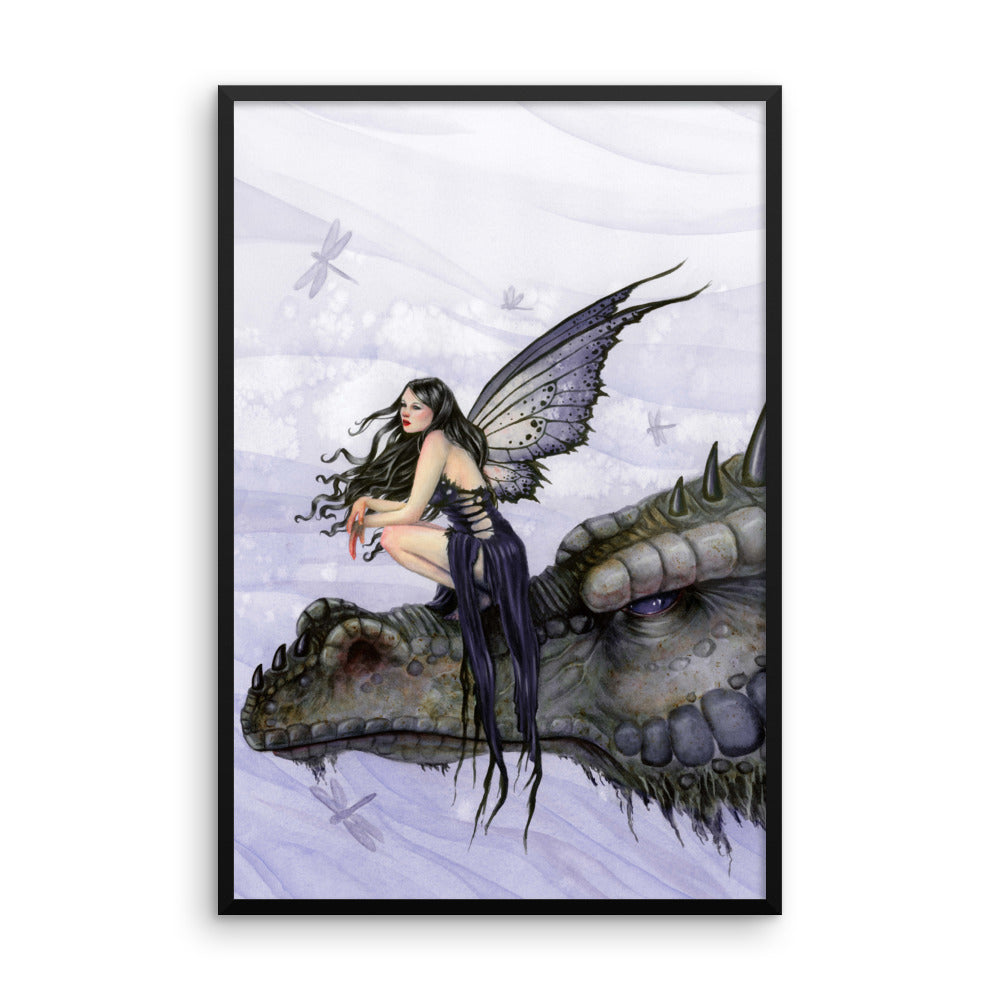 Framed Print - Dragon Skies