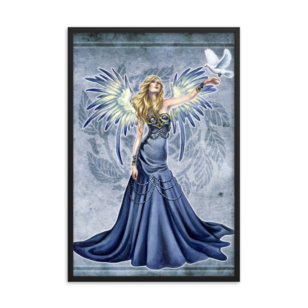 Framed Print - Choirs Angel Seraphina