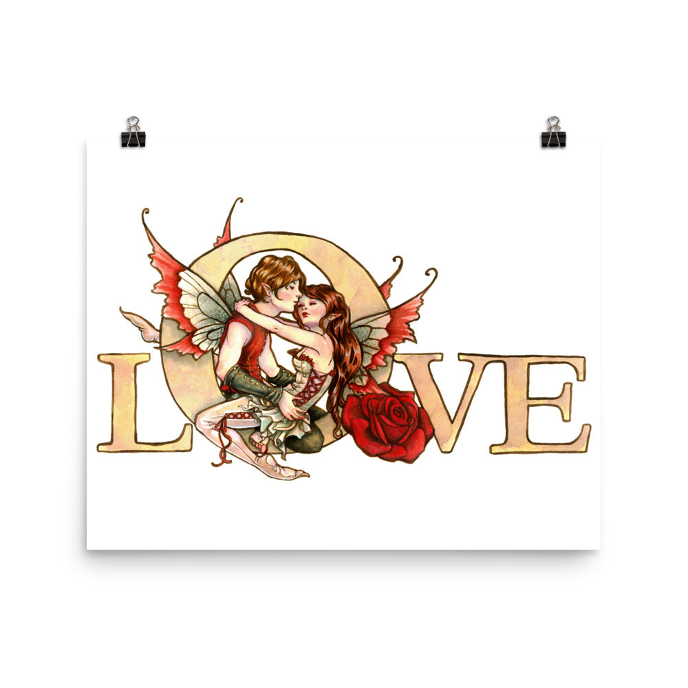 Art Print - In Love
